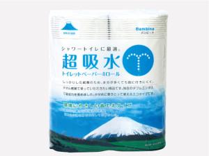 世界文化遺産富士山 | 超吸水トイレットペーパー4R
