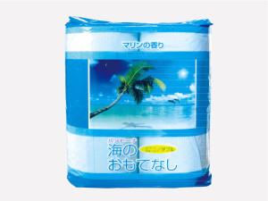 海のおもてなし トイレットペーパー4R :夏の販促品:おもてなしシリーズ