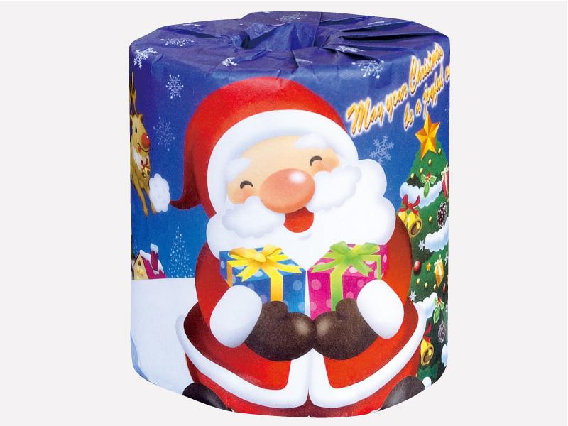 サンタロール 1R クリスマス : トイレットペーパー