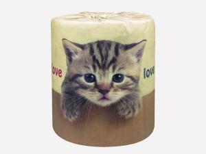 やっぱり猫が好き!:トイレットペーパー