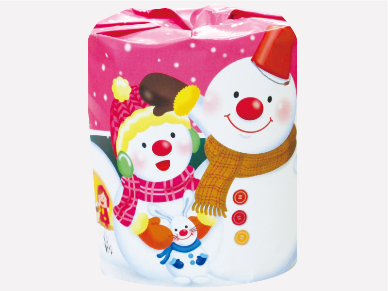 冬から春の販促品:雪だるま : トイレットペーパー