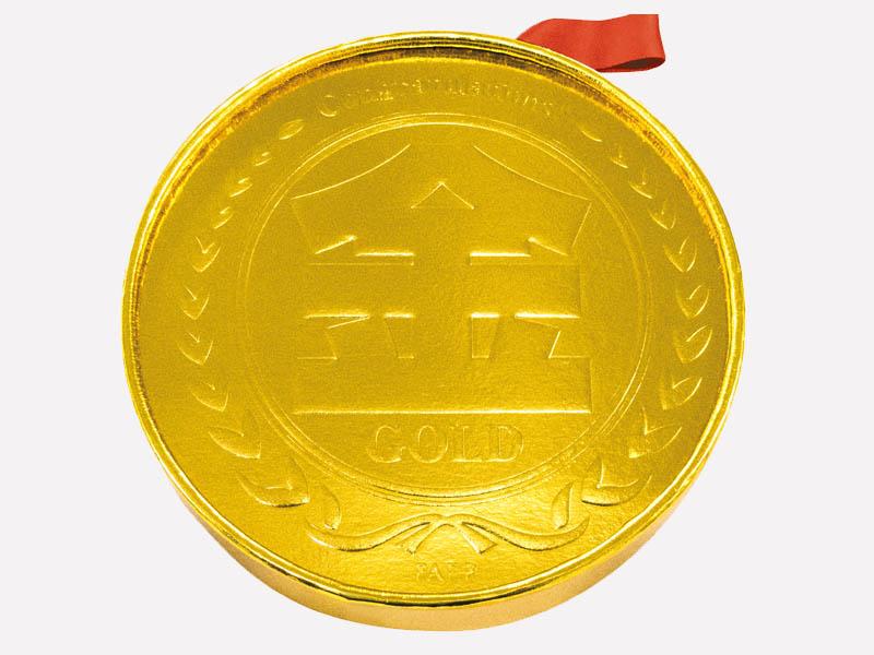 金メダルティッシュ