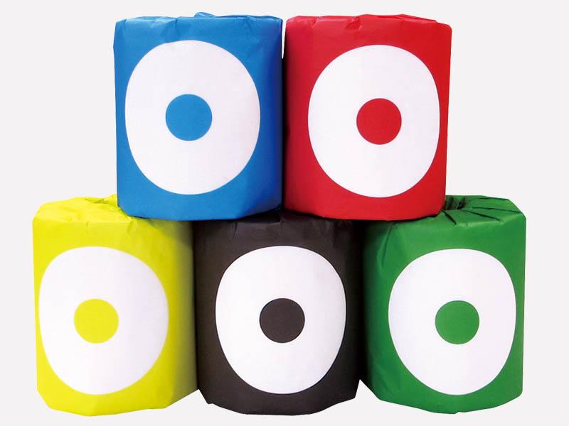 pPod5色アソート トイレットペーパー