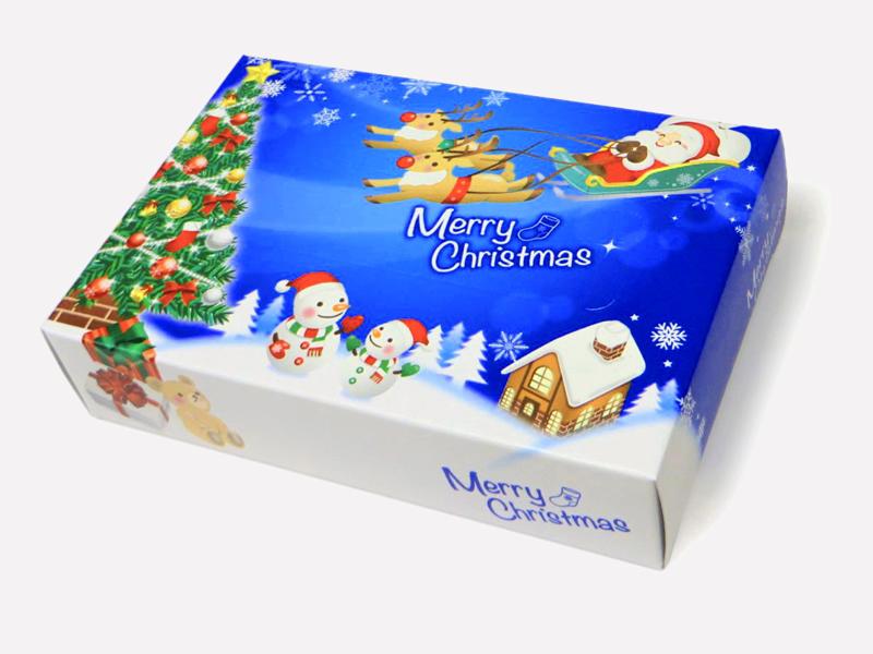 ポストカード クリスマスティッシュ