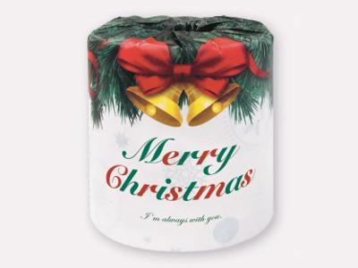 クリスマスロール画像